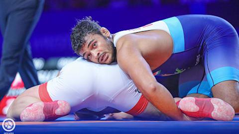 Deepak Punia through to final on World Championship debut
