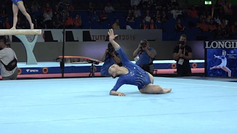 WATCH: Team USA on floor in podium training