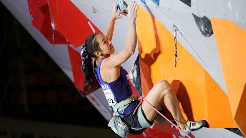 スポーツクライミング世界選手権:女子複合決勝・リード終え、野口啓代が総合2位で東京五輪女子代表に内定!