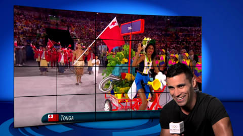 Pita Taufatofua | Rio 2016 | Take the Mic