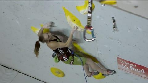 Teenage climbing sensation looking for more glory