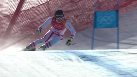 Matthias Mayer grabs gold in the Men's Super-G | Alpine Skiing