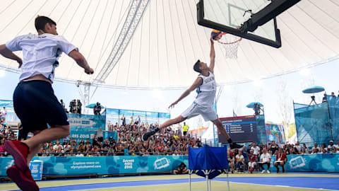 Dunk Contest (H) - Basket 3x3 | JOJ Buenos Aires 2018
