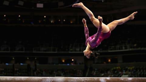 Ultimate Gold : Une démonstration de gymnastique