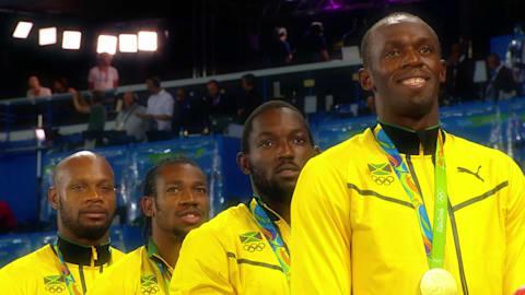 Nationalhymne:  Jamaikas Highlights in Rio