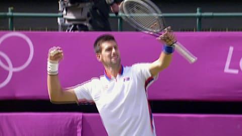 Novak Djokovic a los 21