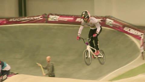 André, campione del mondo di BMX, punta al debutto olimpico
