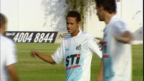 Neymar all'età di 17 anni