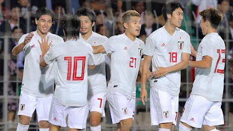 サッカーW杯アジア2次予選:森保ジャパンがタジキスタンに快勝…南野が2点、浅野も追加点