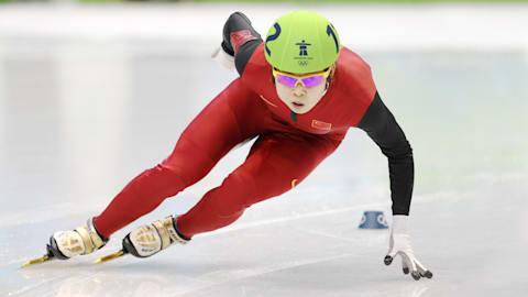 Meng Wang, rompedora de récords en pista corta
