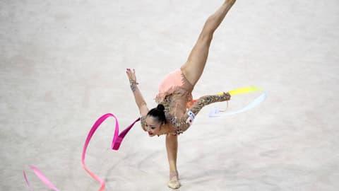 新体操W杯ペサロ大会、個人総合で皆川13位、大岩17位...ロシアの双子姉妹がワンツーフィニッシュ