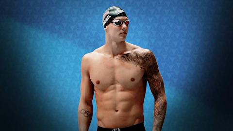 Что мотивирует Калеба Дрессела в его стремлении стать лучшим в плавании?