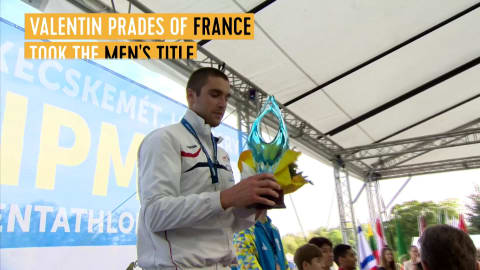 Prades takes men's title in Hungary