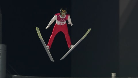 Men's Normal Hill, Qualification - Ski Jumping | PyeongChang 2018 Replays