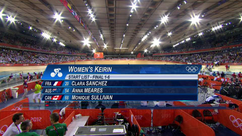 Pendleton becomes first Women's Keirin Olympic champion| London 2012 Replays