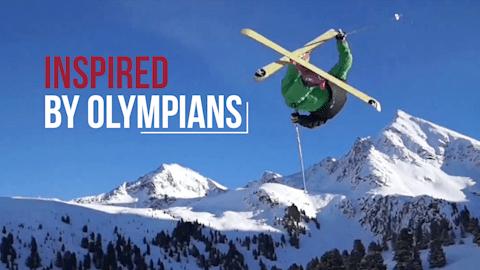 Трюки на лыжах | Inspired by Olympians