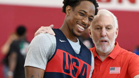 Team USA Basketball get 2020 preparations underway at Vegas minicamp