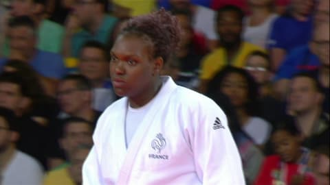 Judo @ Rio 2016 - Women's over 78Kg Gold medal match