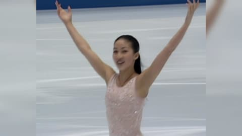 Michelle Kwan danza sulle note di On My Own da I Miserabili