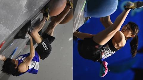 Japan sweep bouldering titles at Asian Championships