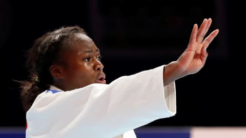 Resilient Clarisse Agbegnenou takes fourth judo world title after epic final