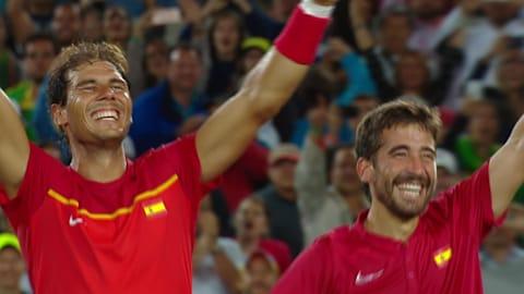Mergea/Tecau v Lopez/Nadal, Men's Tennis Doubles Gold | Rio 2016 Replays