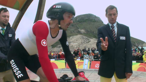 Cancellara secures Men's Cycling Road Time Trial gold