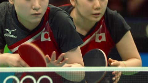 Le Japon médaillé de bronze en tennis de table féminin par équipes