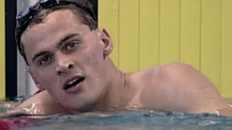 Men's 100m freestyle final at Atlanta 1996