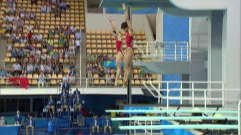 China's Wu wins fourth consecutive gold in Women's Synchronised Diving