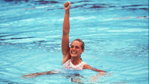 Forgotten Olympic sport: Solo synchronised swimming