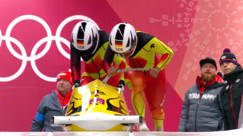 Heat 3 - Two-Woman Bobsleigh | PyeongChang 2018 Replays