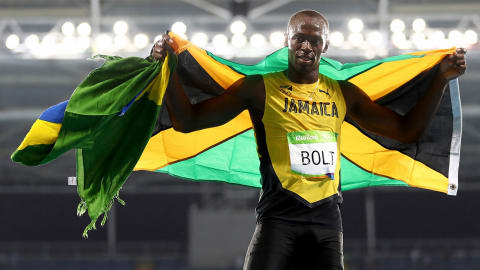Rio 2016 - Bolt wins the 200m final