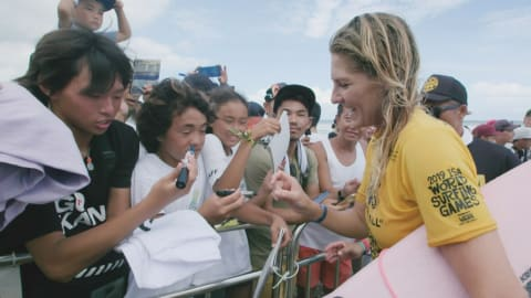 Steph Gilmore on mental visualisation and getting nervous about Tokyo 2020