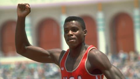 Los Angeles 1984 – Lewis ganha a final dos 100m