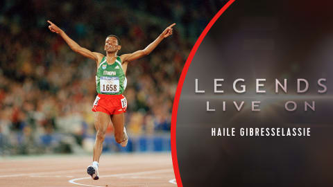 El etíope Haile Gebrselassie