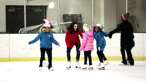 Meryl Davis inspiriert junge Mädchen durch 'Figure Skating in Detroit'