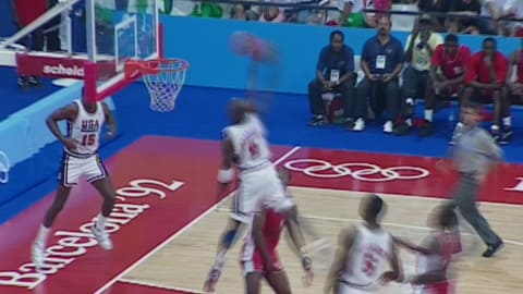 Jordan shines as USA 'Dream Team' strike gold