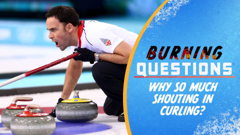 Why so much shouting in curling?