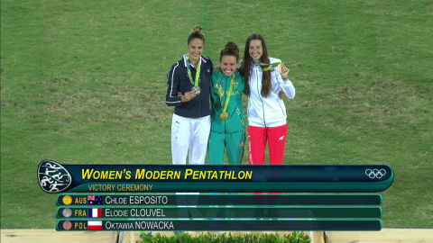 Esposito wins gold in Modern Pentathlon