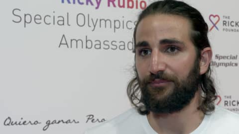 Ricky Rubio speaks with Olympic Channel about the loss of his mother in 2016