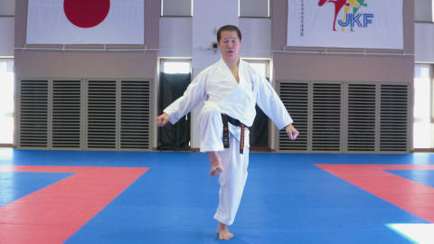 Coaches tips: Karate - Kicking Techniques