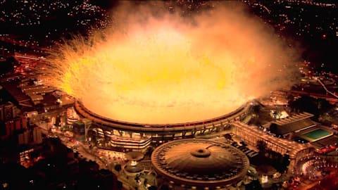 Церемония открытия Рио-2016