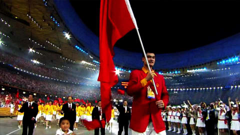Flagbearer Yao Ming: Being China's first superstar Olympian