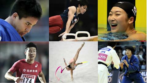 日本の「お家芸」である体操と柔道、新時代を築きつつある陸上の短距離走と水泳は、東京五輪でのメダルラッシュも十分に可能