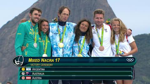 Dupla argentina conquista o ouro na vela