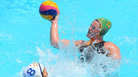 女子 - RSA vs NZL | 水球 - FINA世界選手権 - 光州