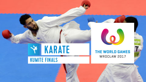 Karate Kumite Finals - The World Games Wroclaw 2017