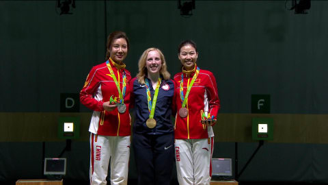 Shooting: Women's 10m Air Rifle Qual and Final | Rio 2016 Replays