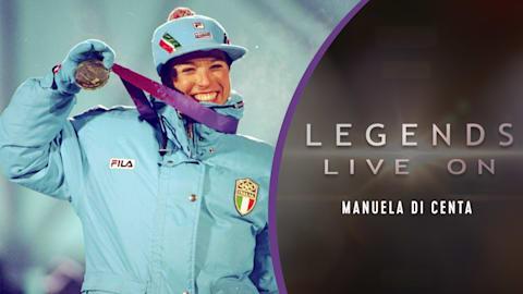 L'Italienne Manuela Di Centa (long)